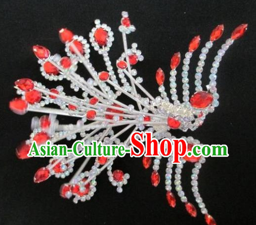 Chinese Traditional Peking Opera Phoenix Hairpin