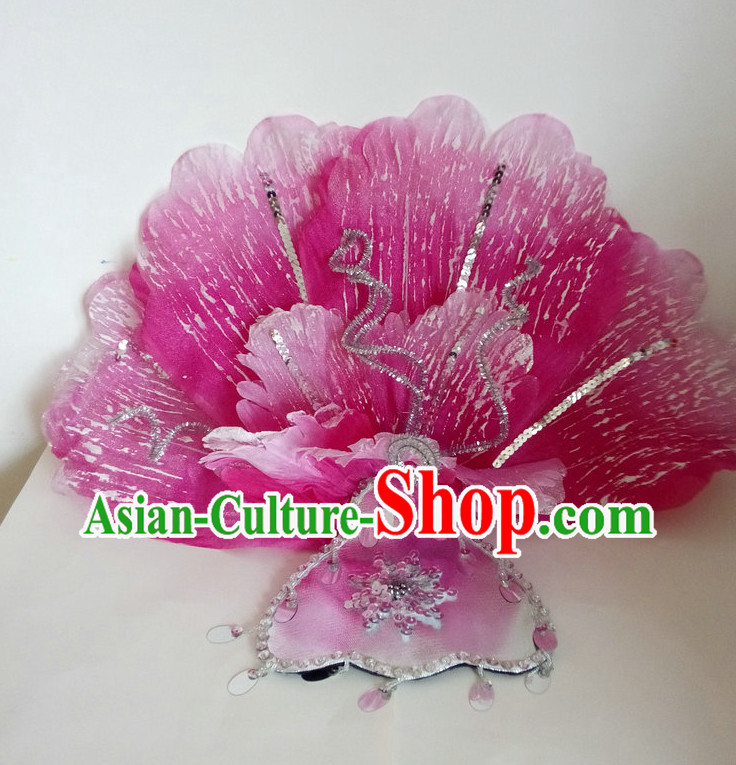 Chinese Classical Dance Peony Hair Decorations