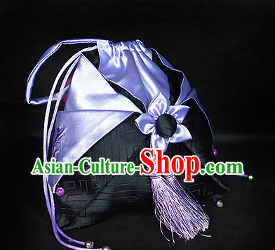 Chinese Hanfu Accessories Traditional Handmade Desinger Hand Bags