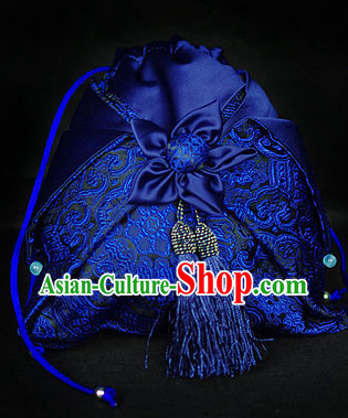 Chinese Hanfu Accessories Traditional Handmade Desinger Handbag
