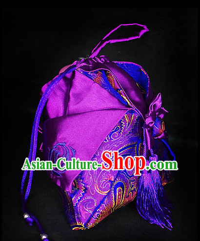 Chinese Hanfu Accessories Traditional Handmade Designer Hand Bags