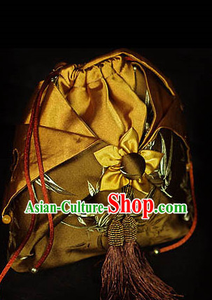 Chinese Classical Hanfu Accessories Traditional Handmade Designer Hand Bags Handbags