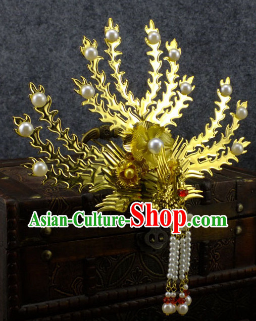 Chinese Traditional Handmade Phoenix Hair Jewelry