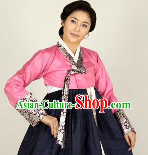 Korean Traditional Mother Hanbok Formal Dresses Special Occasion Dresses for Women