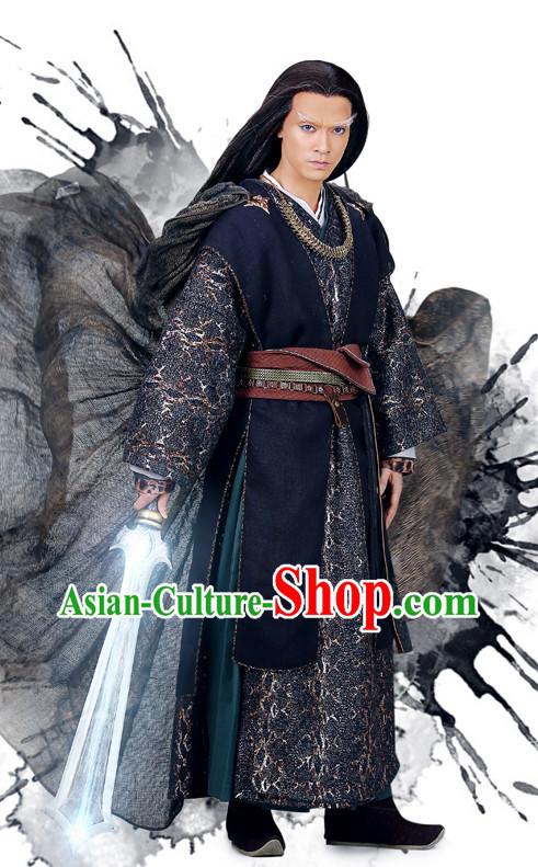 Chinese TV Drama Kung Fu Sifu Costumes Complete Set for Men