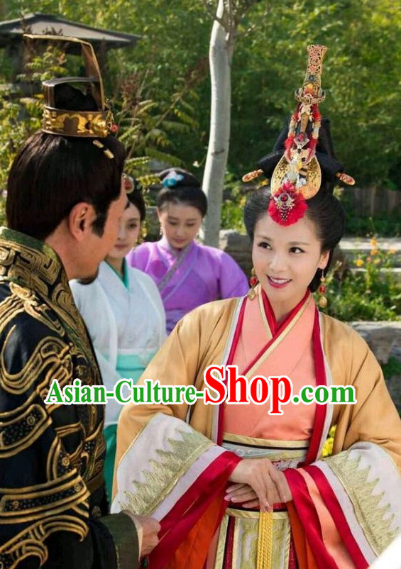 Chinese Traditional Empress Headwear