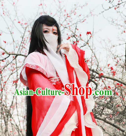Asia Fashion Ancient China Culture Chinese Classical Dancing Costumes