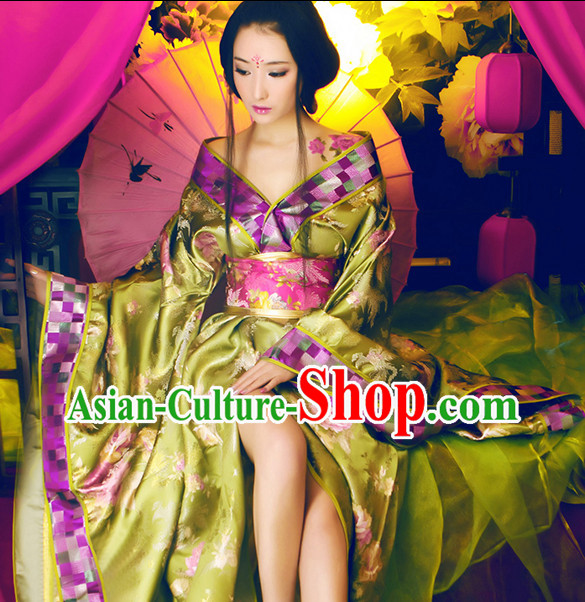 Asian Fashion Chinese Empress Costume Complete Set