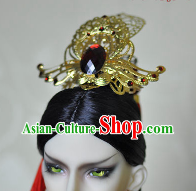 Chinese Traditional Costumes Hair Coronet