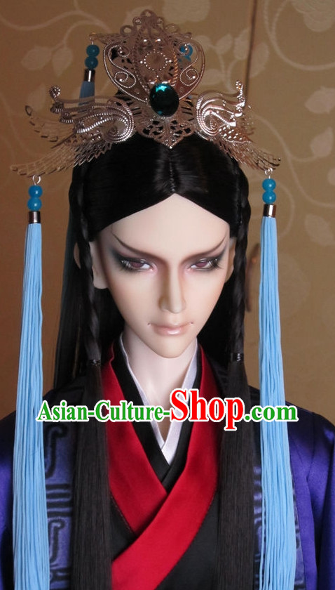 Asia Fashion Chinese Emperor Hair Accessories Headbands Hair Jewelry