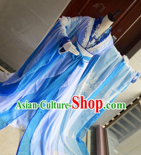 Chinese Traditional Empress Costumes Complete Set