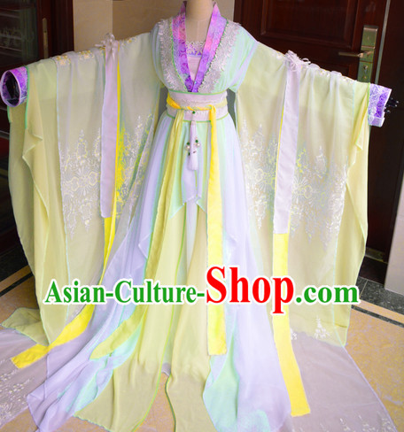 Chinese Traditional Princess Clothes Complete Set
