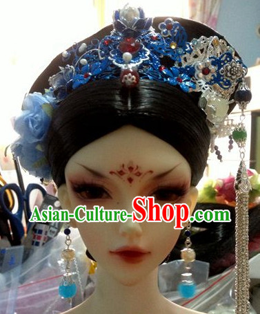 Traditional Chinese Female Empress Hair Accessories Headbands