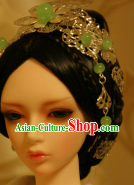Traditional Chinese Empress Wigs and Hairpieces