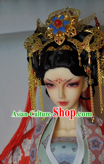 Chinese Traditional Empress Hair Fascinators Hairpieces Hair Accessories