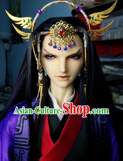 Chinese Stage Performance Prince's Mens Hair Accessories Hair Jewelry