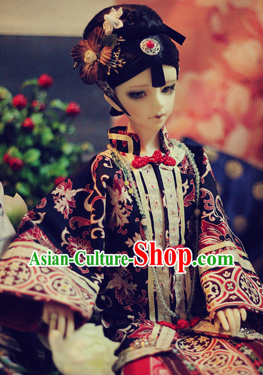 Chinese Handmade Hair Jewelry