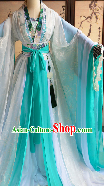 Chinese Traditinoal Princess Costumes Complete Set