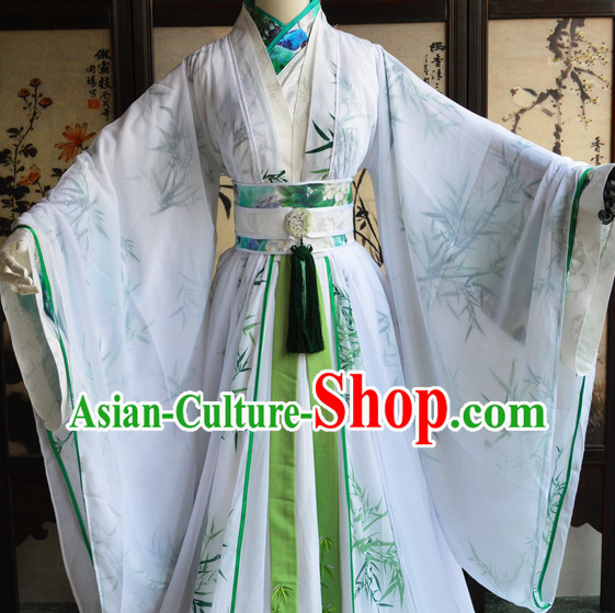 Chinese Ancient Teacher Costumes Complete Set