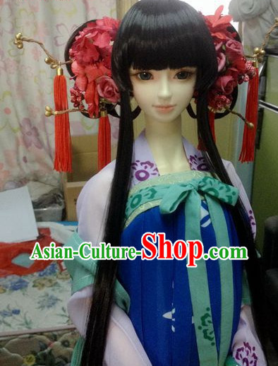 Chinese Handmade Princess Hair Decorations Jewelry