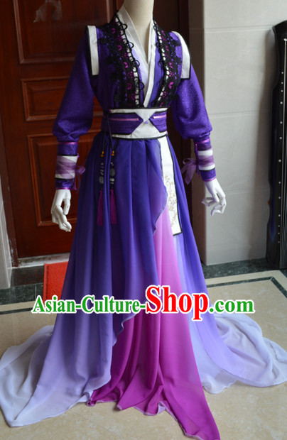Chinese Traditional Princess Costume Complete Set