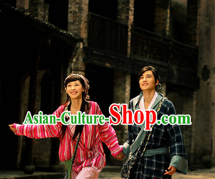 China Fashion TV Drama Costumes and Hair Accessories