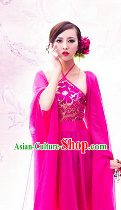 China Fashion Sexy Lady Halloween Costumes and Hair Accessories Full Set
