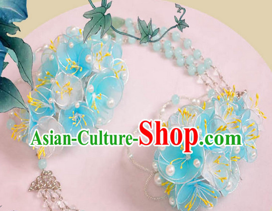 Chinese Handmade Flower Hair Accessories