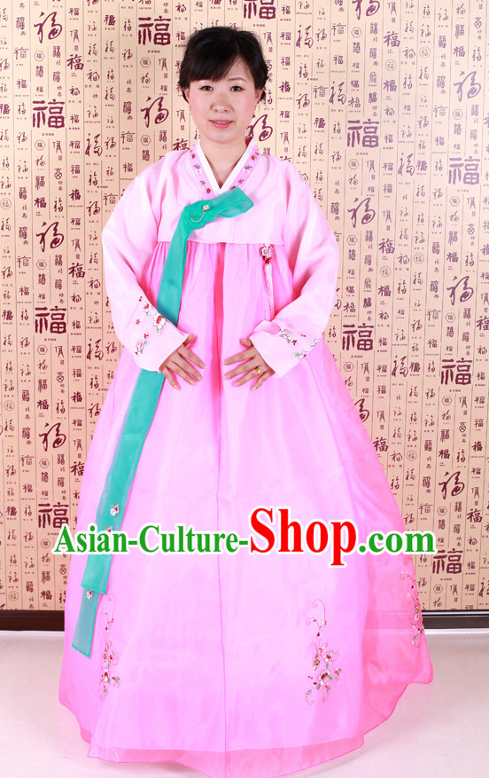 Korean Traditional Dancing Costumes Complete Set