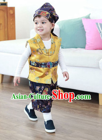 Korean Traditional Birthady Clothing Hanbok Clothing for Boys