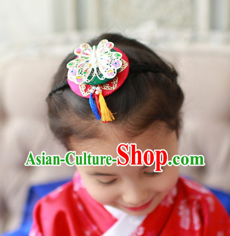 Korean Traditional Clothing Butterfly Hair Accessories