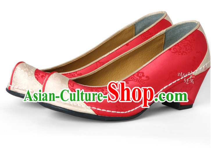 Korean Traditional Dress Shoes for Girls