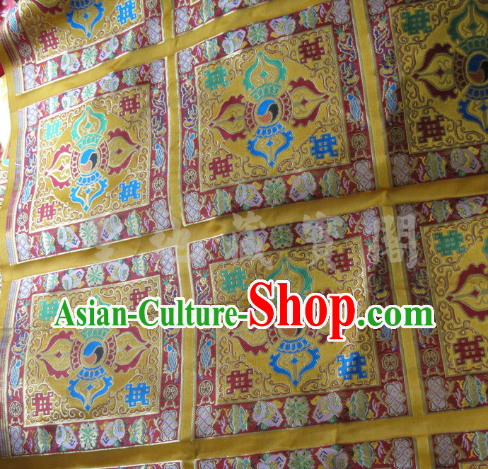 Chinese Traditional Tibetan Style Brocade