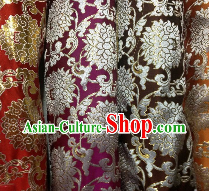 Asian China Traditional Tibetan Brocade Sewing Material