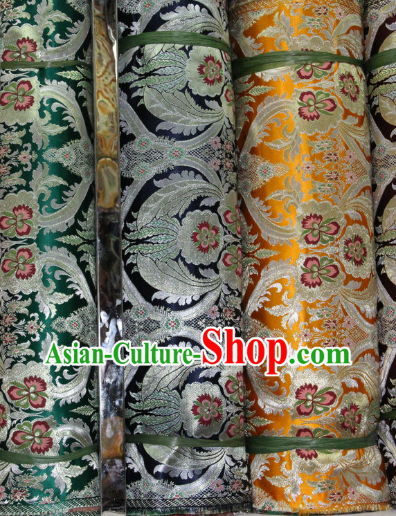 China Traditional Tibetan Brocade Dress Material