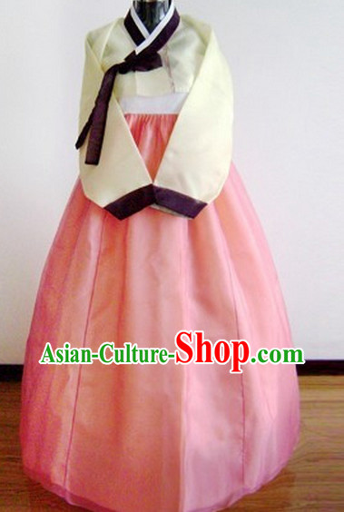 Korean Traditional Dress Female Plus Size Dress Fashion Clothes Complete Set