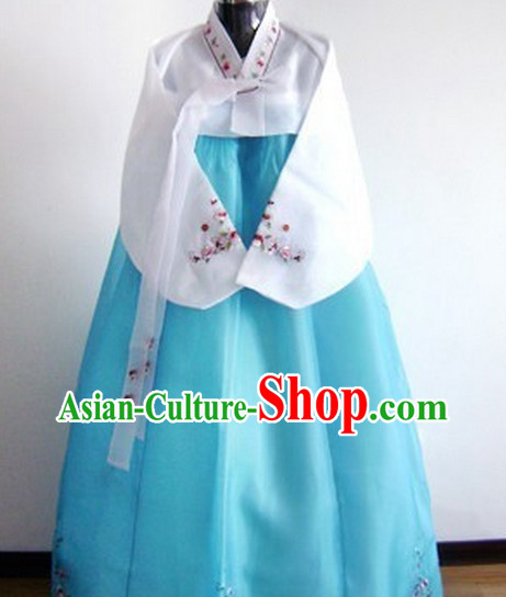 Korean Traditional Dress Female Plus Size Dancing Costumes Fashion Clothes Complete Set