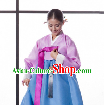 Korean Traditional Dresses Korean Restaurant Uniform Complete Set