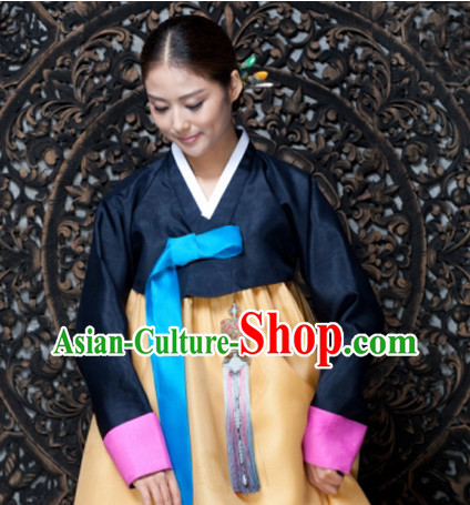 Korean Traditional Restaurant Uniform Complete Set