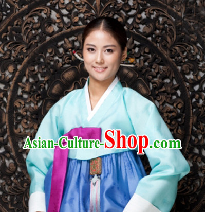 Korean Traditional Restaurant Uniforms Complete Set
