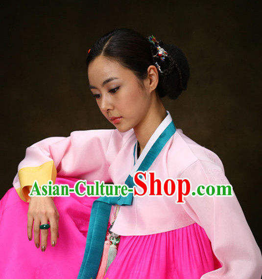 Traditional Korean National Costumes Complete Set for Women