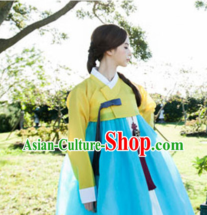 Traditional Korean National Uniforms Complete Set for Women