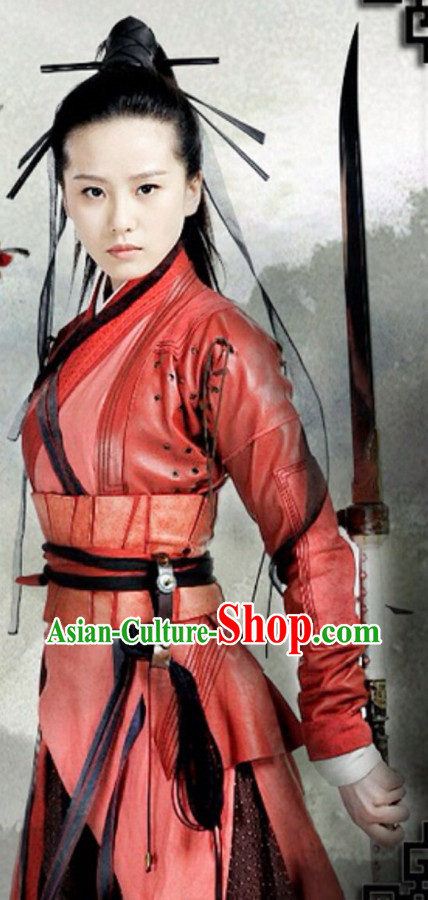 Chinese Ancient Swordswoman Costumes