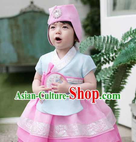 Korean Kids National Costumes Traditional Costumes Korean Fashion Style