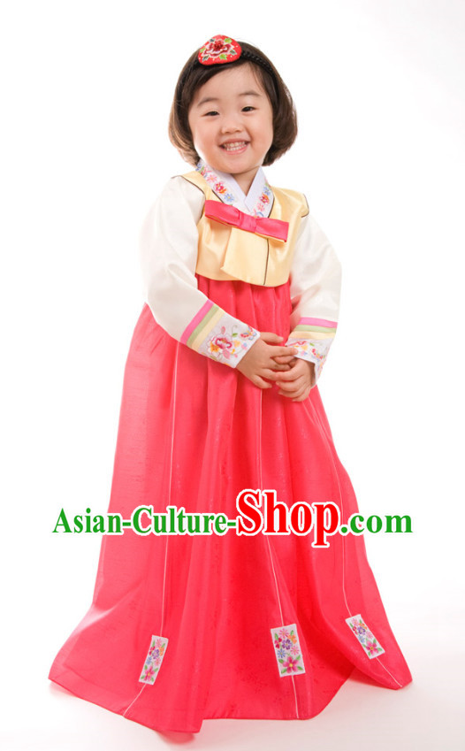 Korean Girls Costumes Traditional Costumes Hanbok Korea Dresses online Shopping