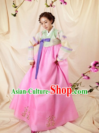 Korean Adult Girls Costumes Traditional Costumes Hanbok Korea Dresses online Shopping