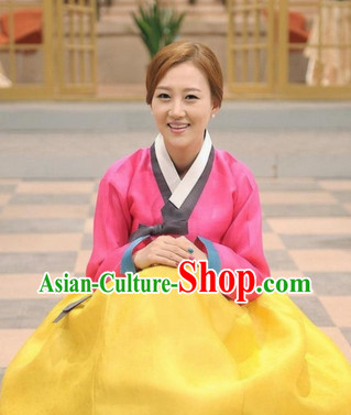 Korean Plus Size Clothing Fashion Clothes Dance Attire Dance Gear Hanbok