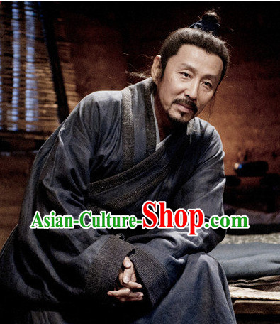Chinese Ancient Liu Bang Costumes Complete Set