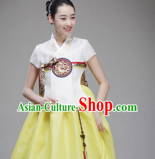 Korean Traditional Ladies Clothing Complete Set