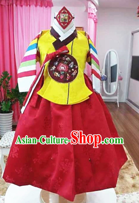 Korean Traditional Ceremonial Outfit Complete Set for Kids